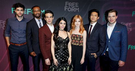 the shadowhunters cast were reunited at the freeform