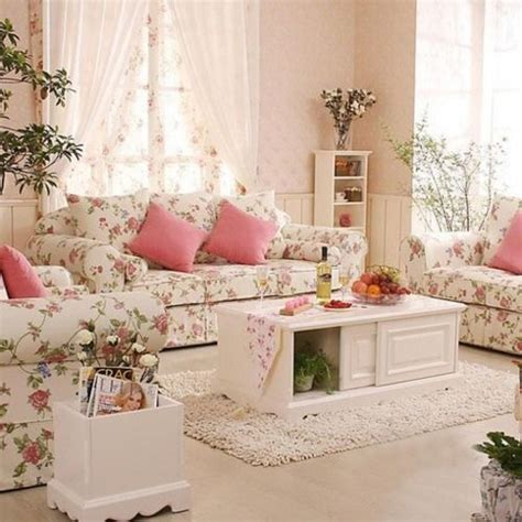 shabby chic living room 37 enchanted shabby chic living room designs digsdigs