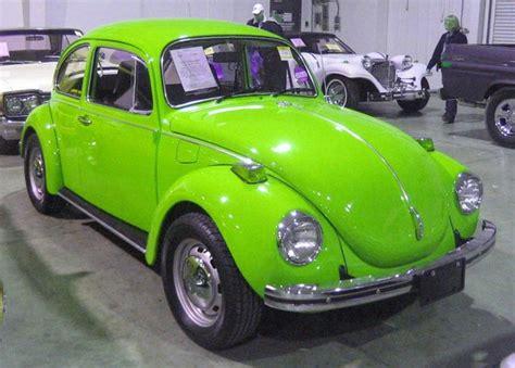 lime green volkswagen beetle 25 best vw beetle ideas on vw bugs