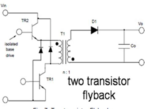 transistor based flyback driver 2 transistor flyback driver 28 images p channel mosfet zvs flyback driver electrical