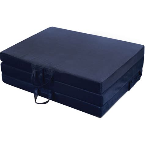 suede tri fold mattress 9994pk1 ofs rollaway beds shipped within 24 hours