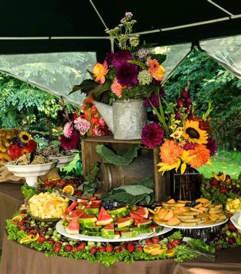 fruit table for wedding reception fruit table for wedding reception country wedding fruit