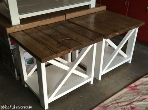 cheap end tables for bedroom best 25 diy end tables ideas on pinterest farmhouse end