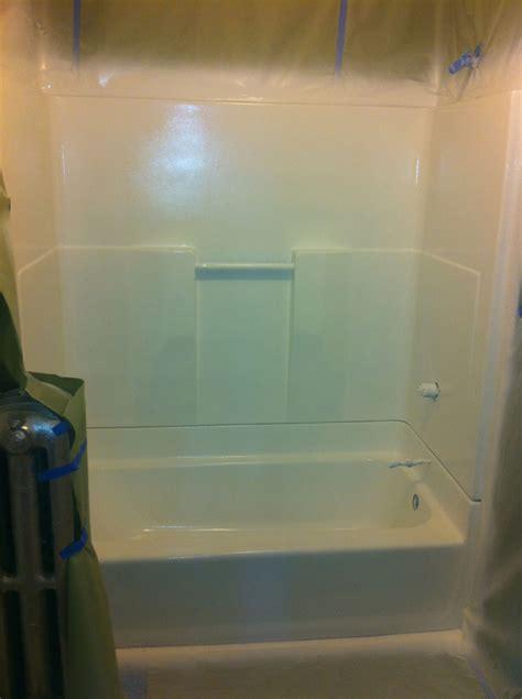 Refinishing Bathroom Stalls Shower Stalls Fiberglass Units Bay State Refinishing