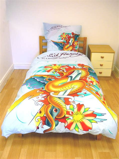 Duvet Store Review Ed Hardy Duvet Cover And Pillowcase Snake Review