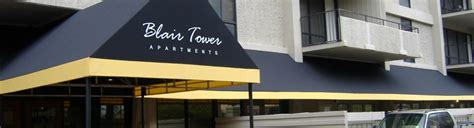Commercial Canvas Awnings by Commercial Awnings Delta Tent Awning Company