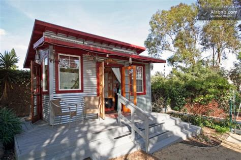 tiny house 250 square feet 250 sq ft rustic micro cabin in san diego ca