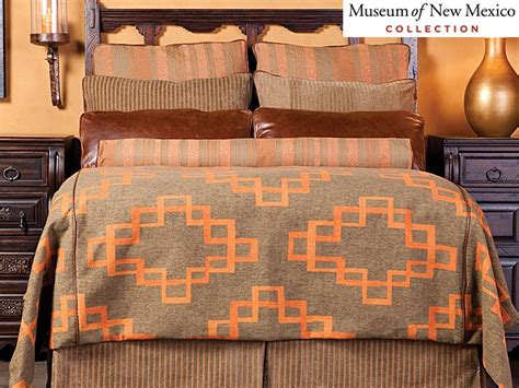 southwestern style bedding southwestern bedding from the museum of new mexico
