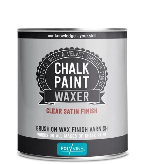 chalk paint johnstones polyvine chalk paint waxer dead flat satin 500ml diy