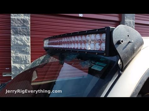 emergency light bar mounts verve led lightbar on emergency vehicle dragtimes com