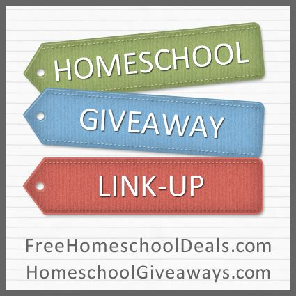 Homeschool Giveaway - homeschool giveaways link up 11 25 12 12 1 12 free homeschool deals 169