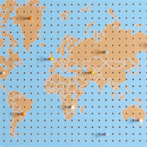 peg board designs world map pegboard by block design notonthehighstreet com