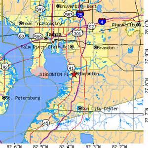 gibsonton florida fl population data races housing