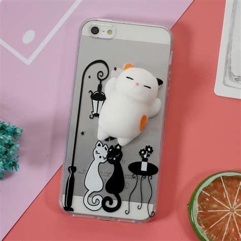 aliexpress trustpilot iphone se 5 5s squishy cover black white cat