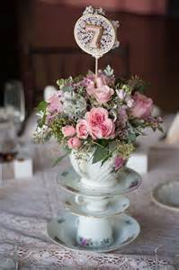 shabby chic wedding table decorations 25 best ideas about teapot centerpiece on tea