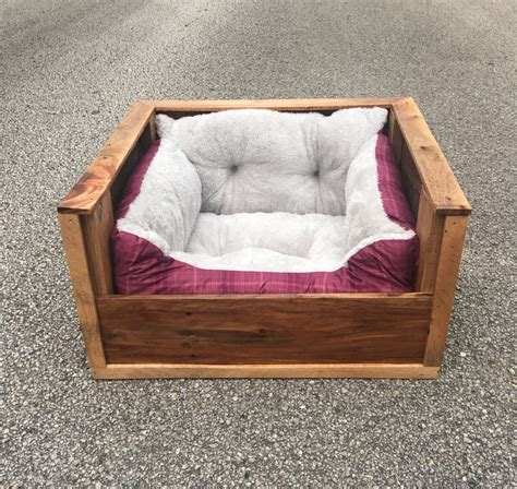 wood dog beds small dog bed pallet dog bed wood dog bed by