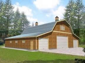 Pole Barn Garage Designs Barn Garage Plan Pole 171 Floor Plans
