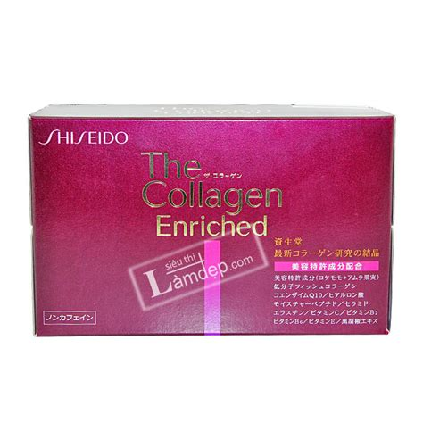 The Collagen Enriched Shiseido nước uống the collagen enriched shiseido nhật bản mua ở đ 226 u gi 225 rẻ chất lượng nhất