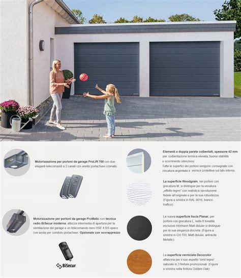 portone sezionale hormann offerta portone sezionale da garage hormann renomatic 2019