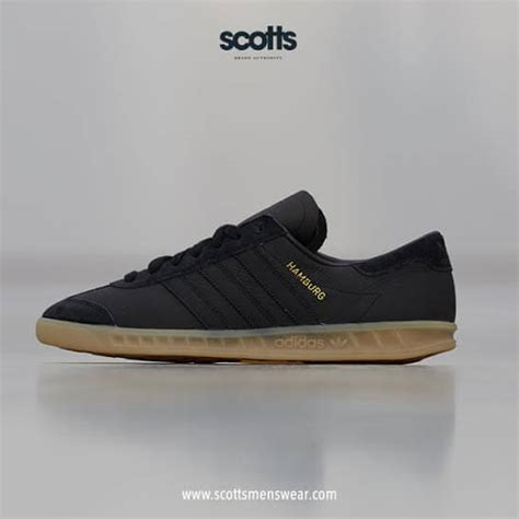 adidas hamburg black gum the sole supplier