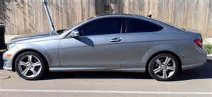 mercedes c class with window tint acme tinting san diego