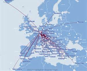 Germanwings Route Map united airlines flight route map