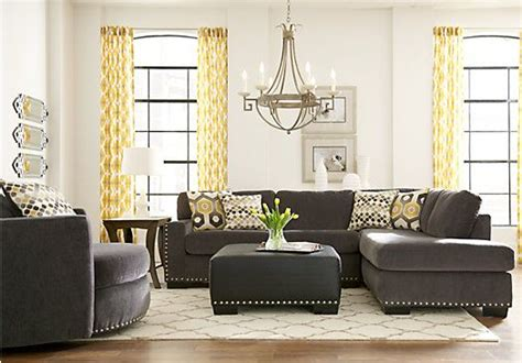 sofia vergara sofa rooms to go sofia vergara laguna beach gray 3 pc sectional living room