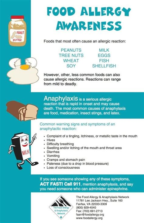 printable allergy poster 1000 images about food allergy awareness on pinterest