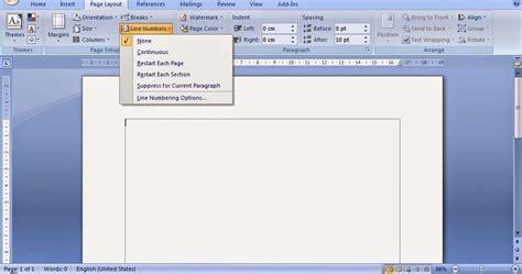cara memberi nomor halaman tidak urut cara membuat nomor urut baris pada dokumen di ms word