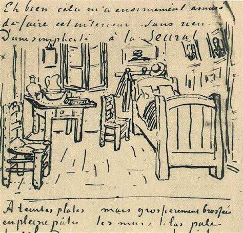 Gogh Letter Bedroom File Vincent Gogh Vincent S Bedroom Lettersketch