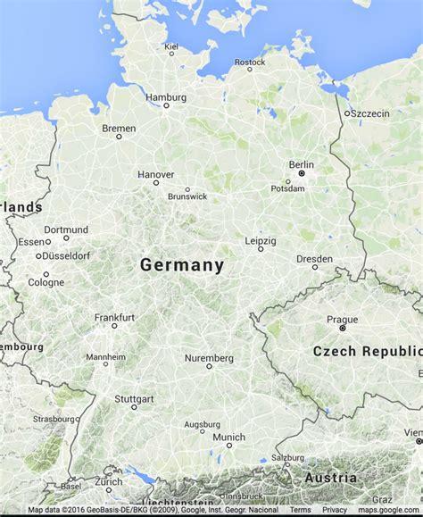 germen map german map
