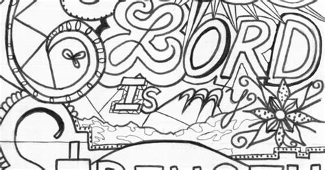 doodle god free limitations the lord is my strength bible coloring page bible