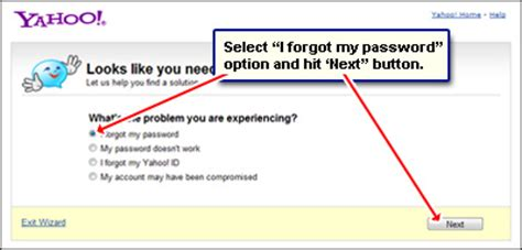 yahoo email i forgot my password yahoo email password problems recover it to access you