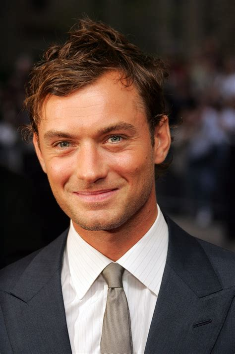 actor with receding hairline jude law movies and biography yahoo movies