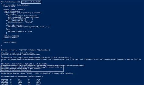 format date variable powershell 6 methods to write powershell output to a sql server table