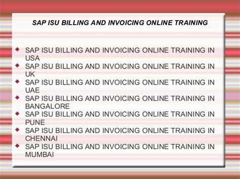 tutorial sap isu sap isu billing and invoicing online training in usa uk