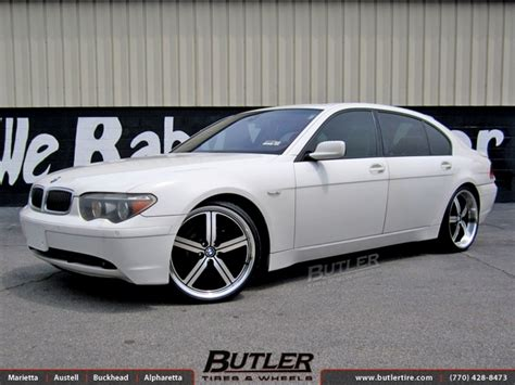 bmw 7 series with 22in huntington bolsa wheels exclusively