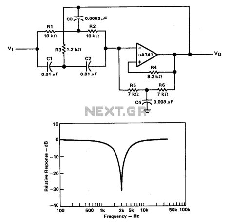 inductor notch filter active inductor notch filter 28 images active filters electronic circuits page 25 next gr