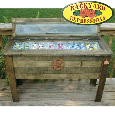 Wooden Patio Cooler by Heartland America Product No Longer Available