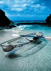 clear kayak transparent kayak pretty but not practical for