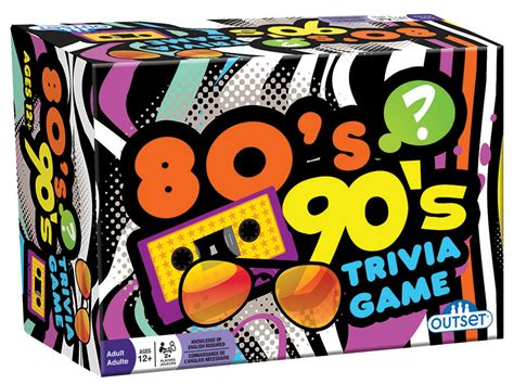 80s 90s by 80 S 90 S Trivia Outset Media