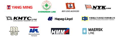 list of companies that provides sea air transportation service all around the world new