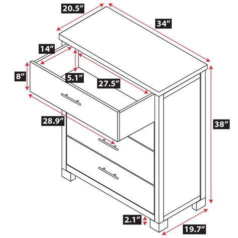 standard college dresser dimensions nara 4 drawer dresser epoch design