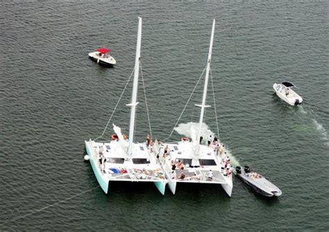 catamaran cruise boca raton island breeze 55 ft sailing catamaran palm breeze
