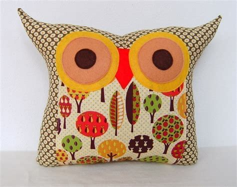 new the apple tree s wishes owl pillow