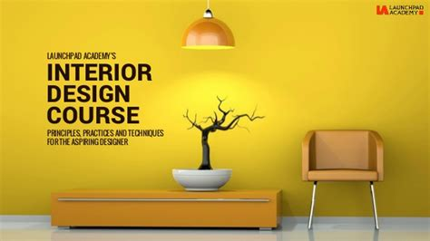 interior design courses at home la interior design course