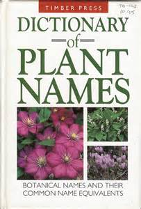 travelmarx dictionary of plant names