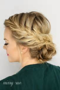 braided styles up do for hair on the sides fishtail braided updo missy sue bloglovin
