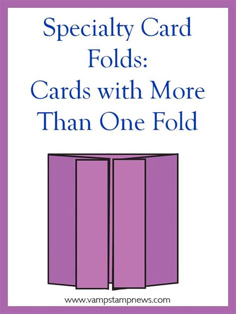 accordion gate fold card template specialty card folds tired of your basic 4 1 4 quot x 5 1 2