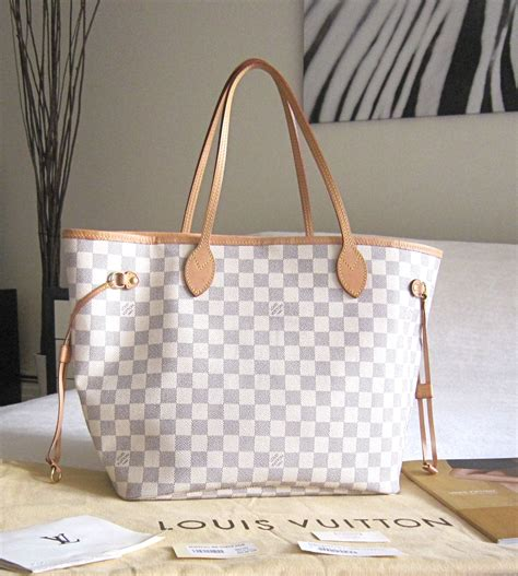 louis vuitton neverfull white it s all in the details